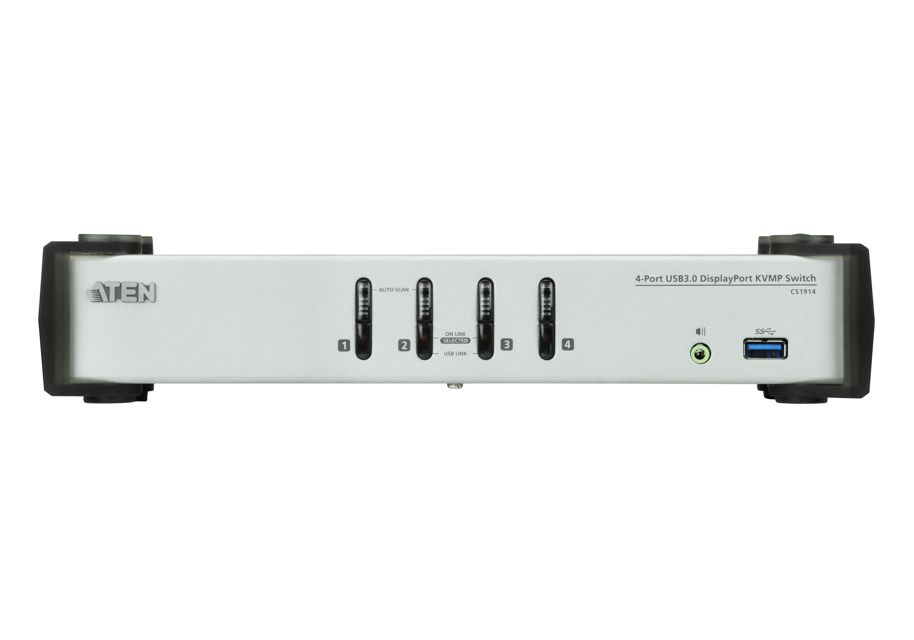 Switch KVMP™ DisplayPort USB 3.0 de 4 puertos (cables incluidos)-3
