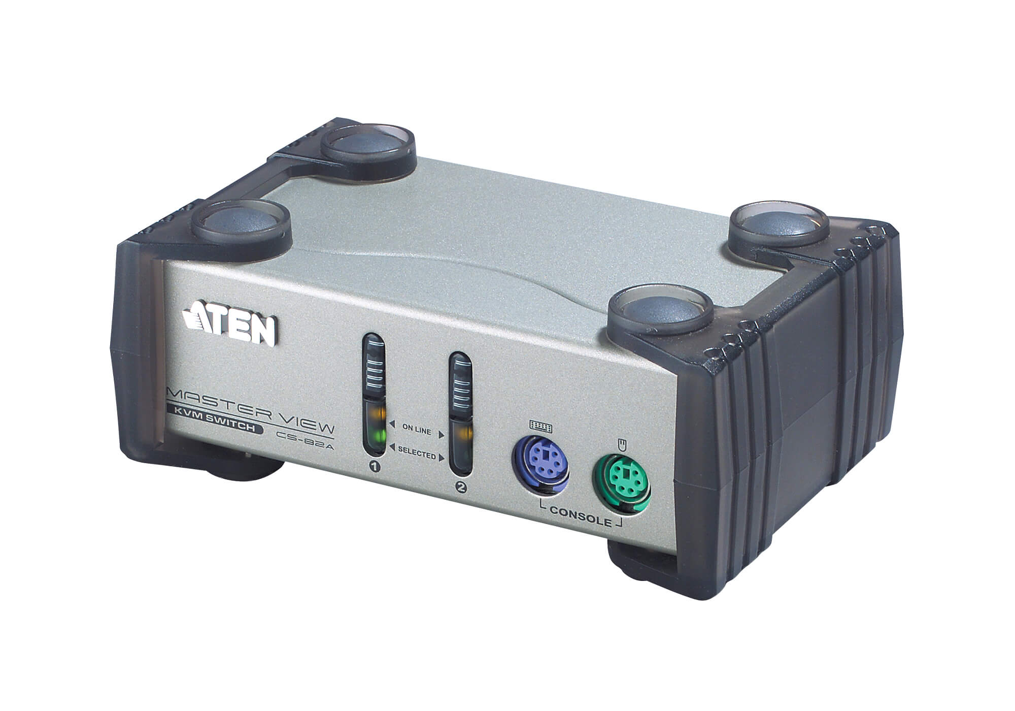 2-Port PS/2 VGA KVM Switch-1