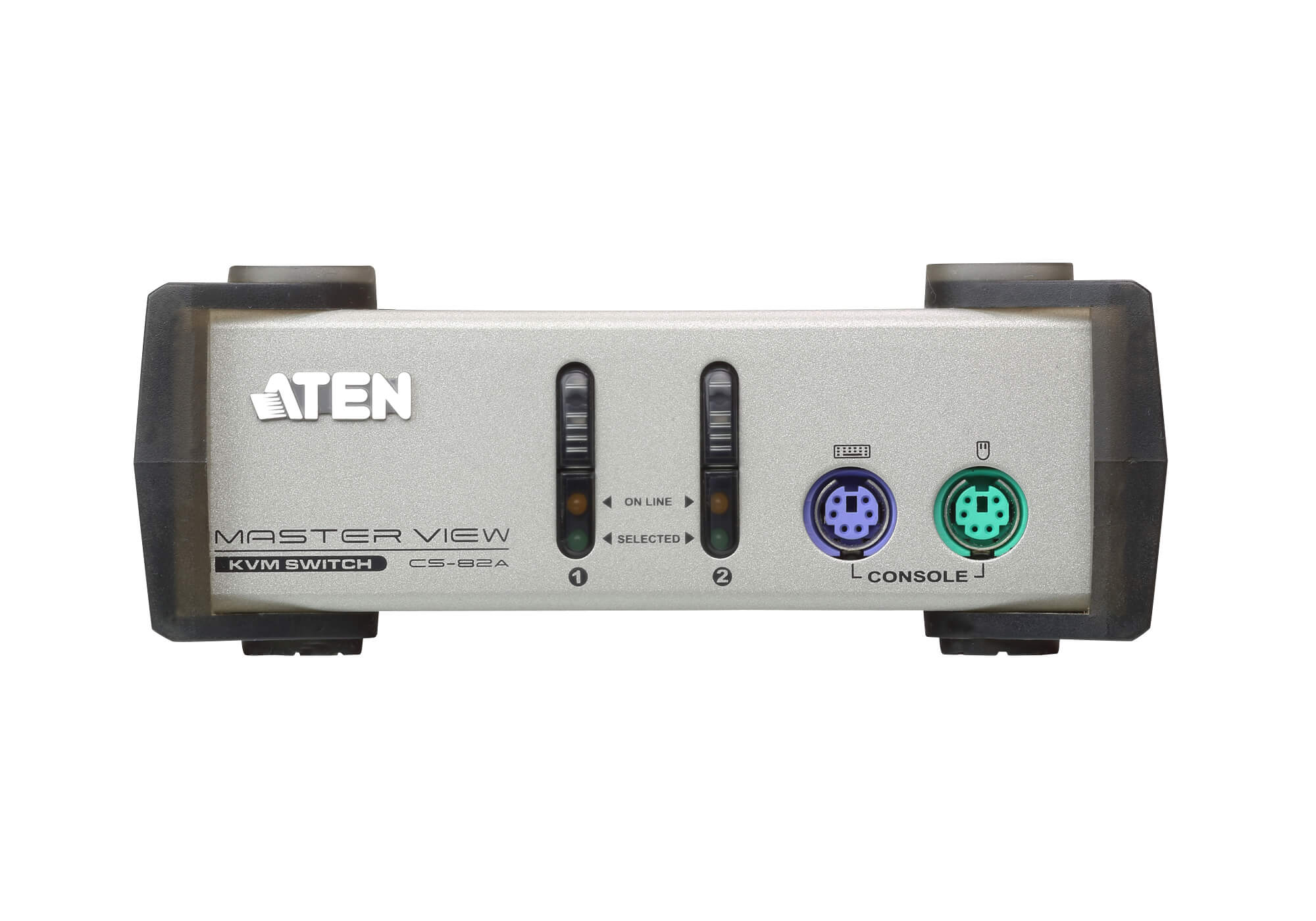 2-Port PS/2 VGA KVM Switch-3