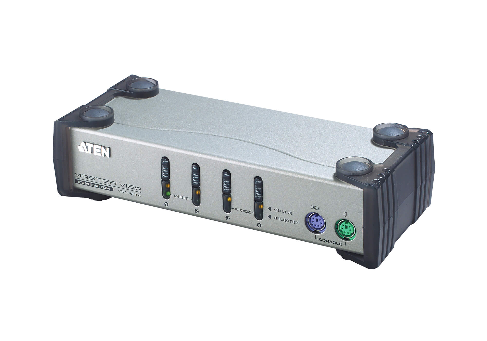 4-poorts PS/2 VGA KVM-switch-2