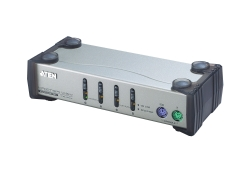 4-Port-PS/2-VGA-KVM-Switch