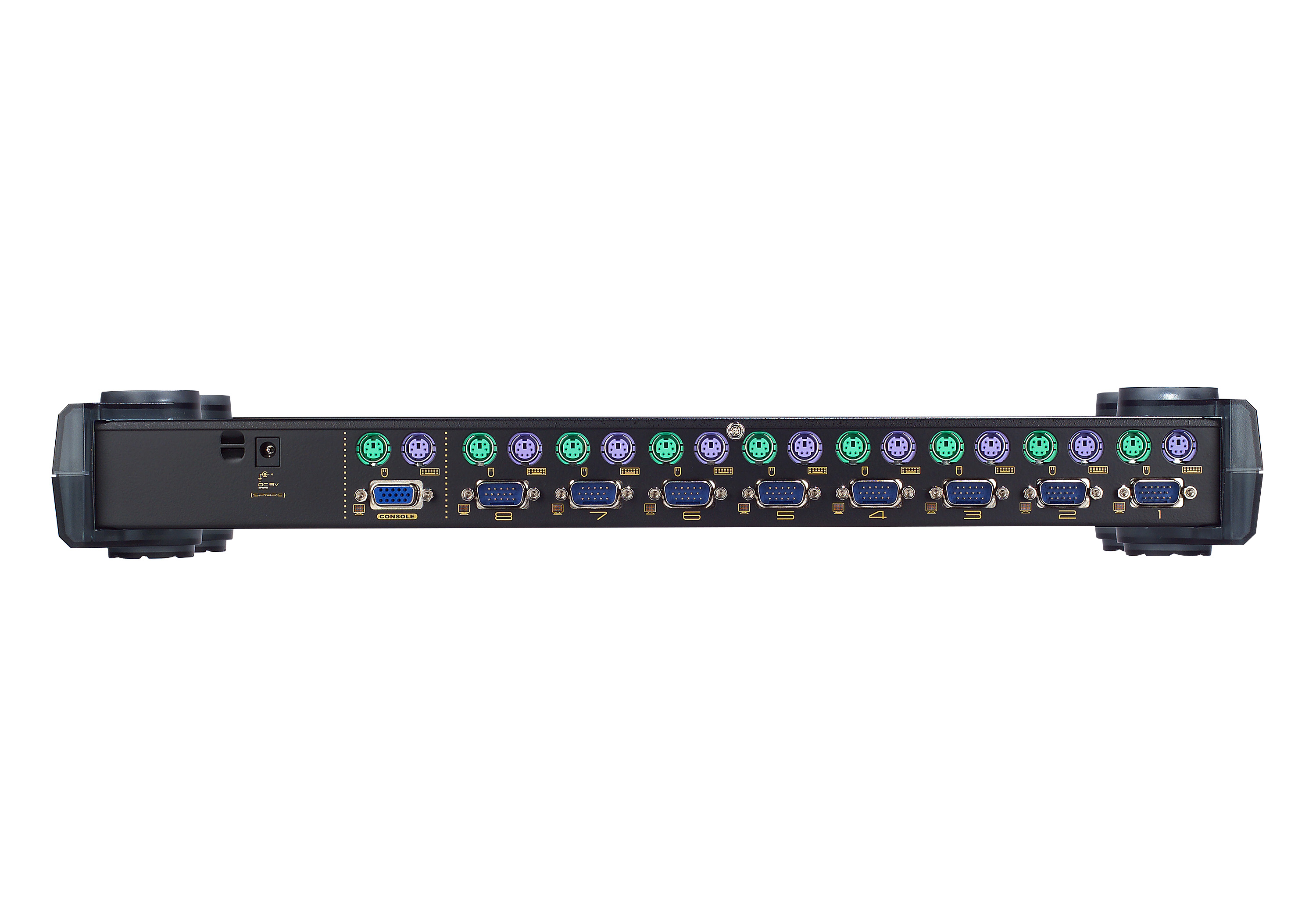 8-Port PS/2 VGA KVM Switch-2