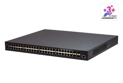 Commutateur manageable PoE GbE 52 ports