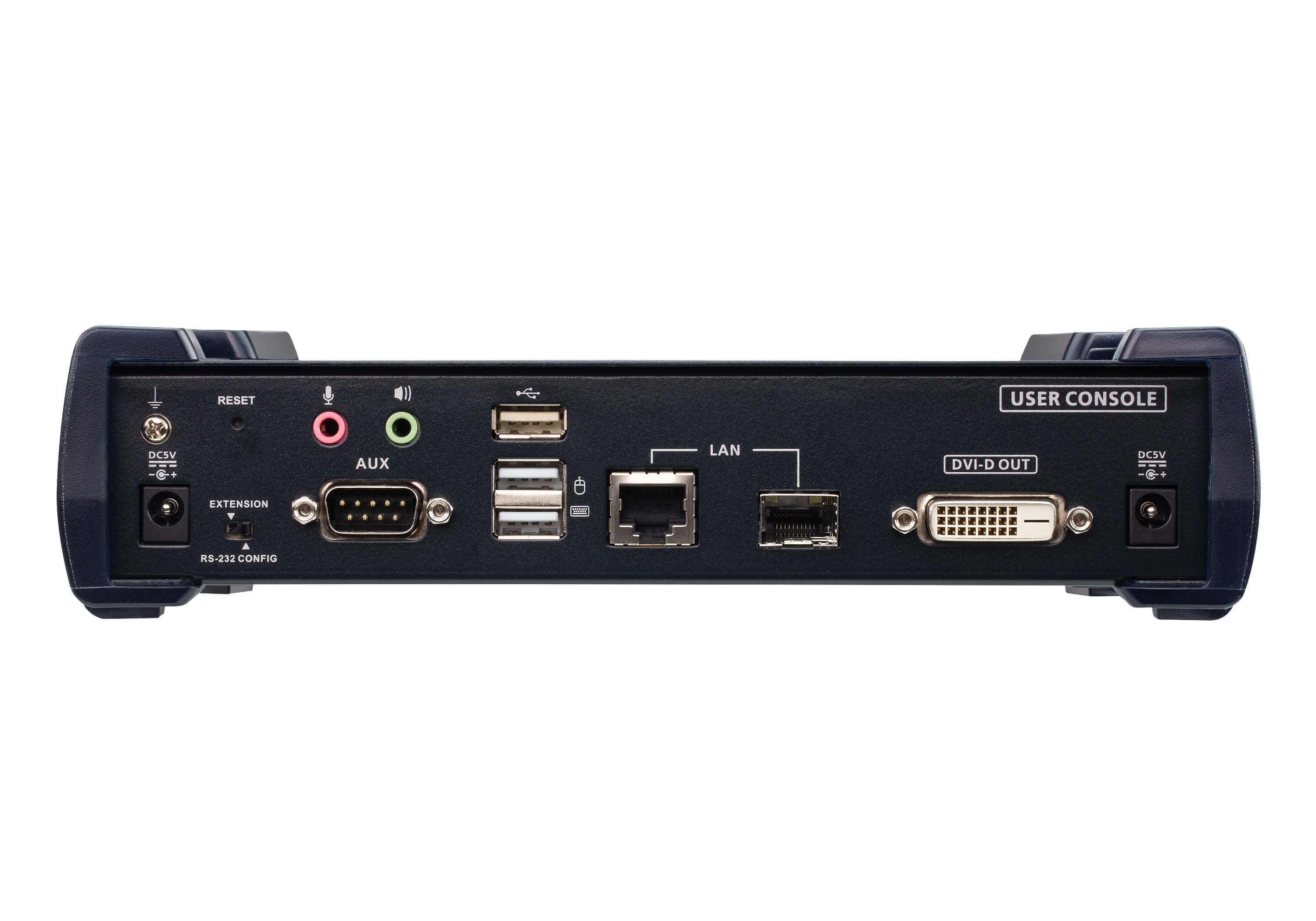 2K DVI-D Dual Link KVM over IP Receiver-3