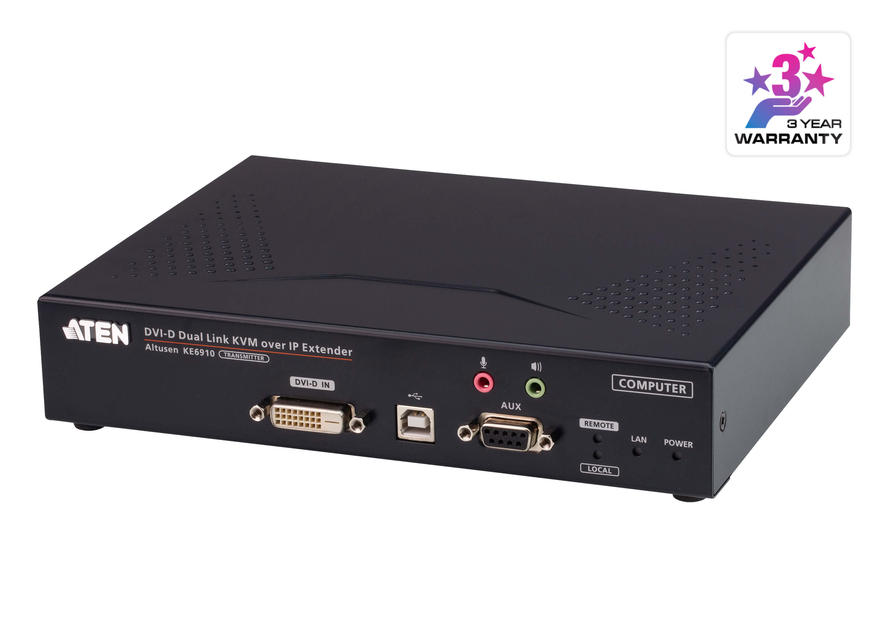 2K DVI-D Dual Link KVM over IP Transmitter-2