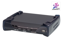 2K DVI-D Dual Link KVM over IP Receiver with PoE