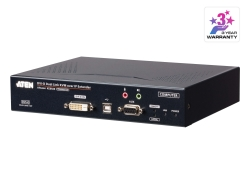 2K DVI-D Dual-Link KVM over IP Transmitter with Dual SFP