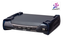 DVI-I Dual Display KVM over IP Receiver
