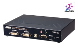 DVI-I Dual Display KVM over IP Transmitter