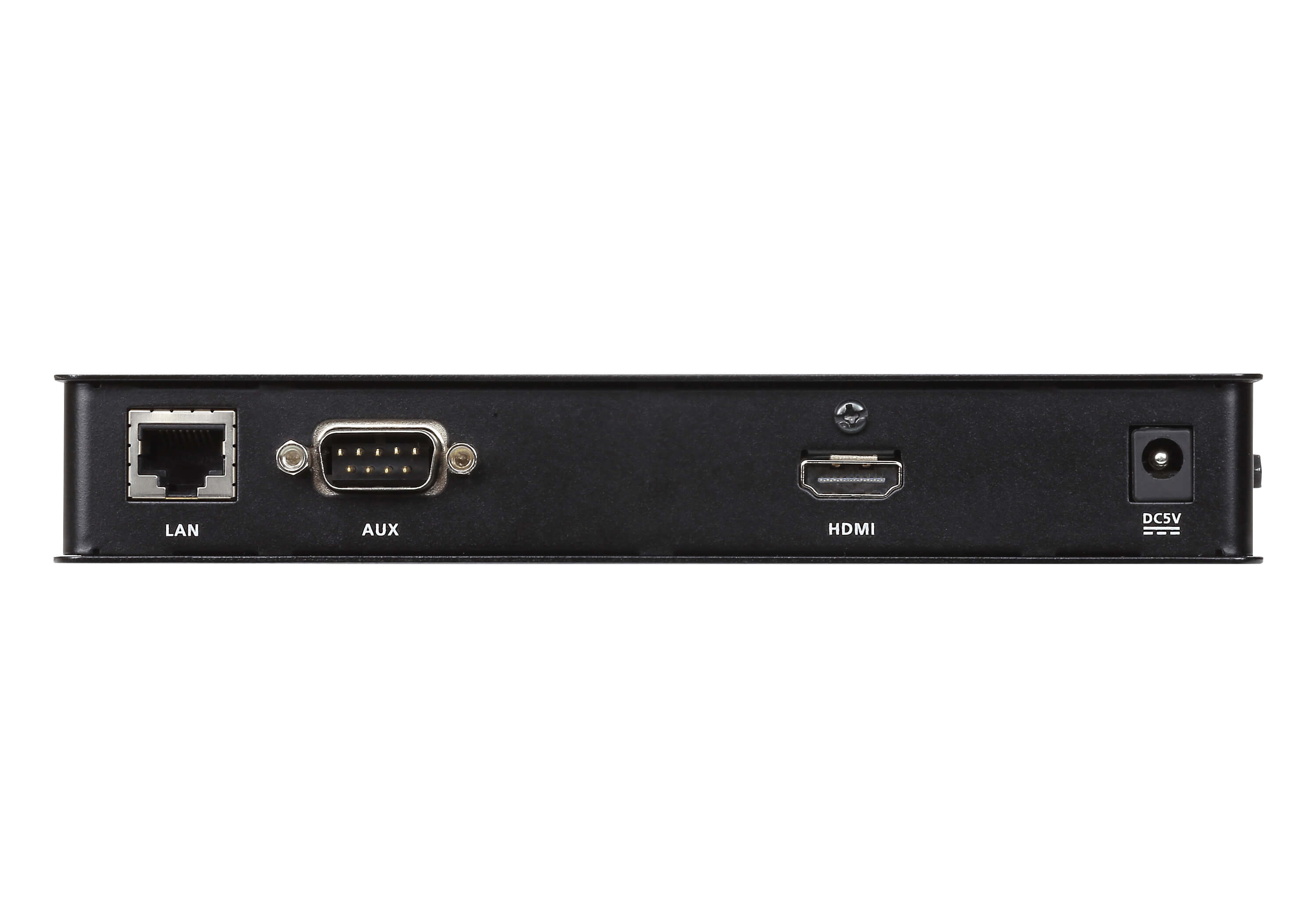 Receptor KVM por IP HDMI single display USB formato compacto-2