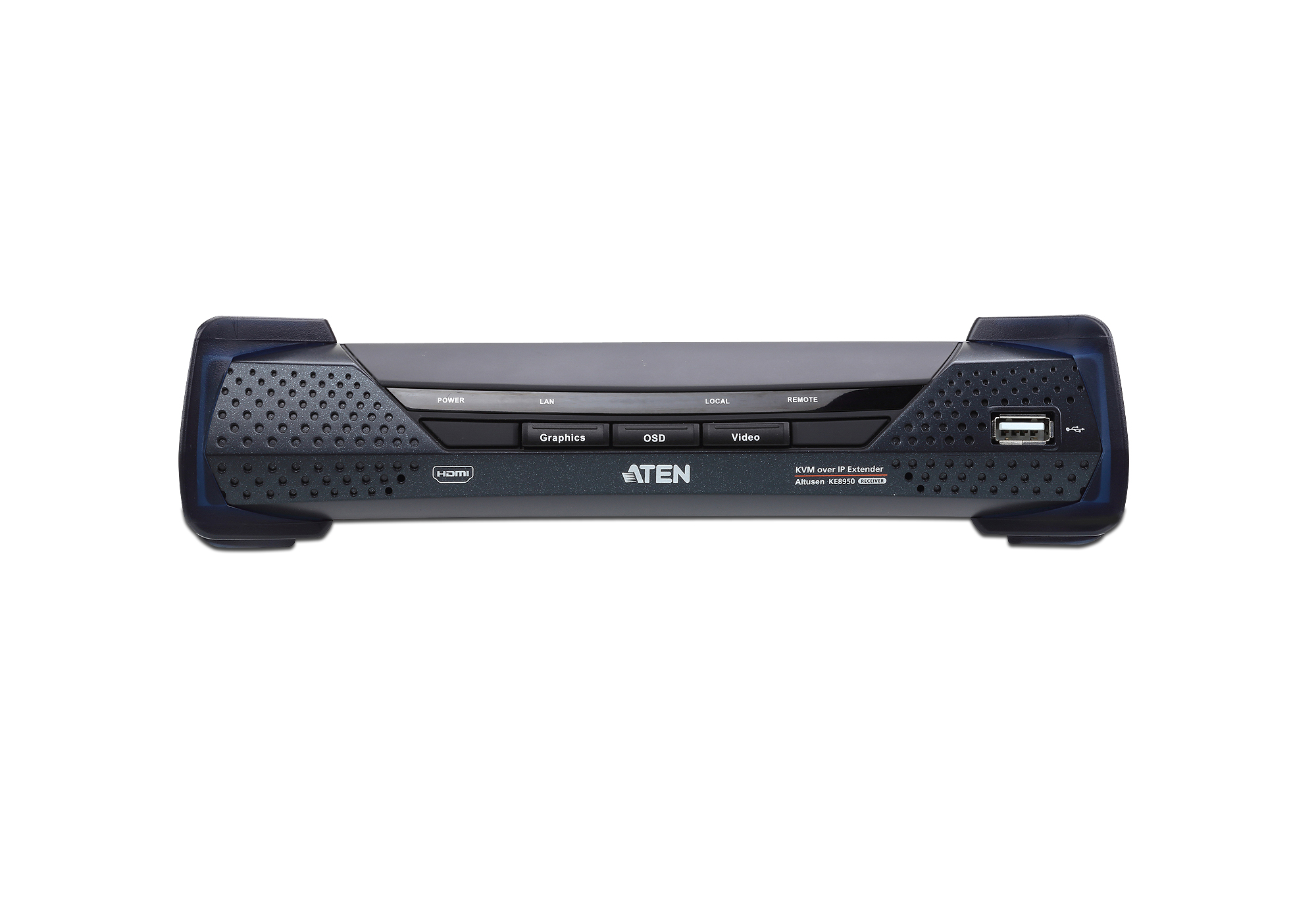 4K HDMI Single Display KVM over IP Receiver-3