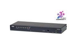 8-Port Cat 5 KVM Switch with Daisy-Chain Port