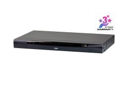 1-Local/1-Remote Access 16-Port Cat 5 KVM over IP Switch mit Virtual Media (1920 x 1200)