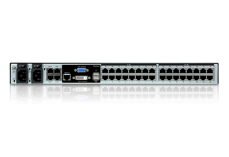 1-Local/8-Remote  Access 32-Port Multi-Interface Cat 5 KVM over IP Switch-2