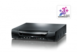 1-Local /8-Remote Access 64-Port Cat 5 KVM over IP Switch with Virtual Media (1920 x 1200)