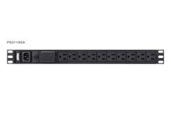 1U Basic PDU with Surge Protection
