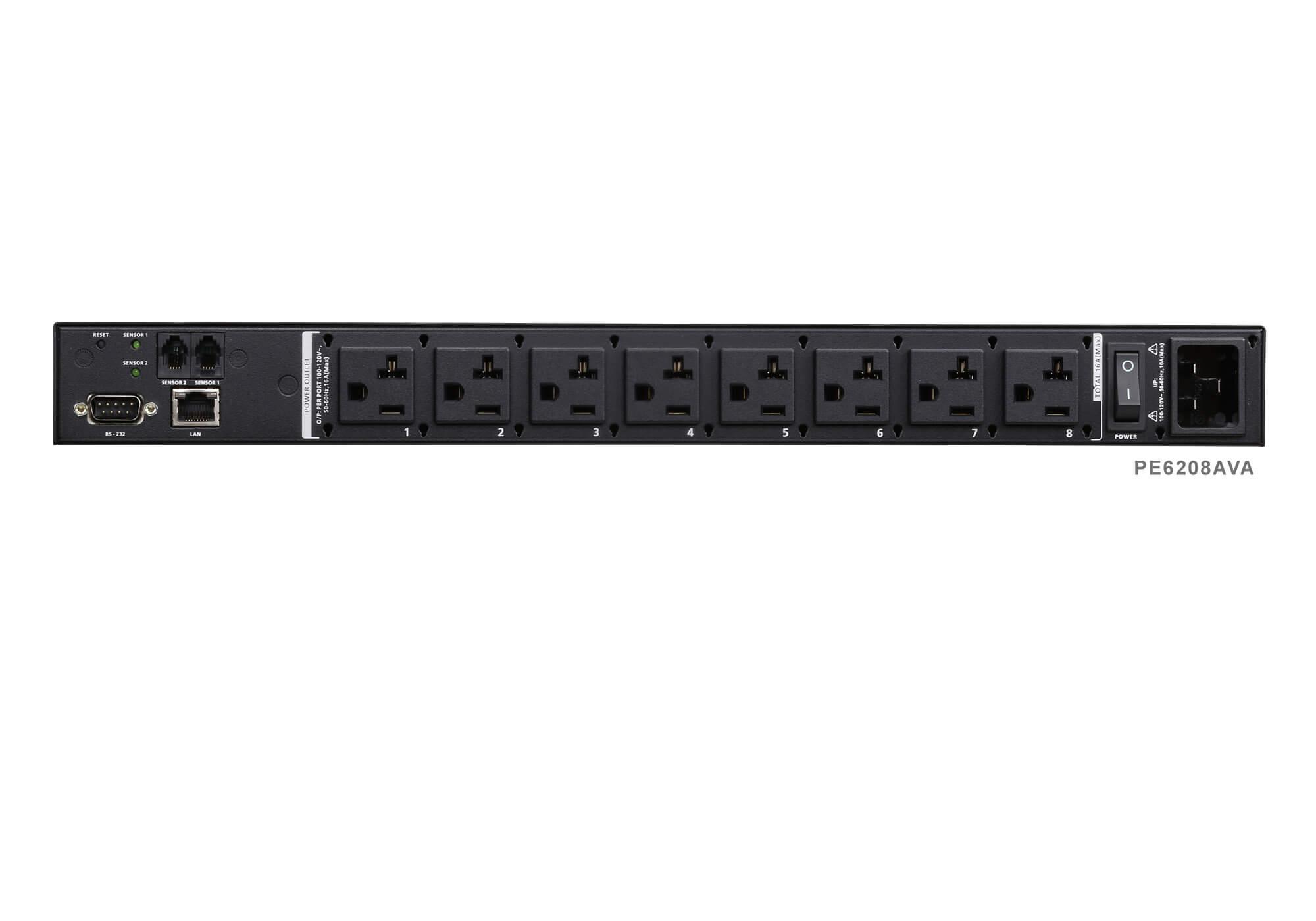 8-Outlet eco PDU - PE6208AV, ATEN Rack PDU | ATEN ANZ