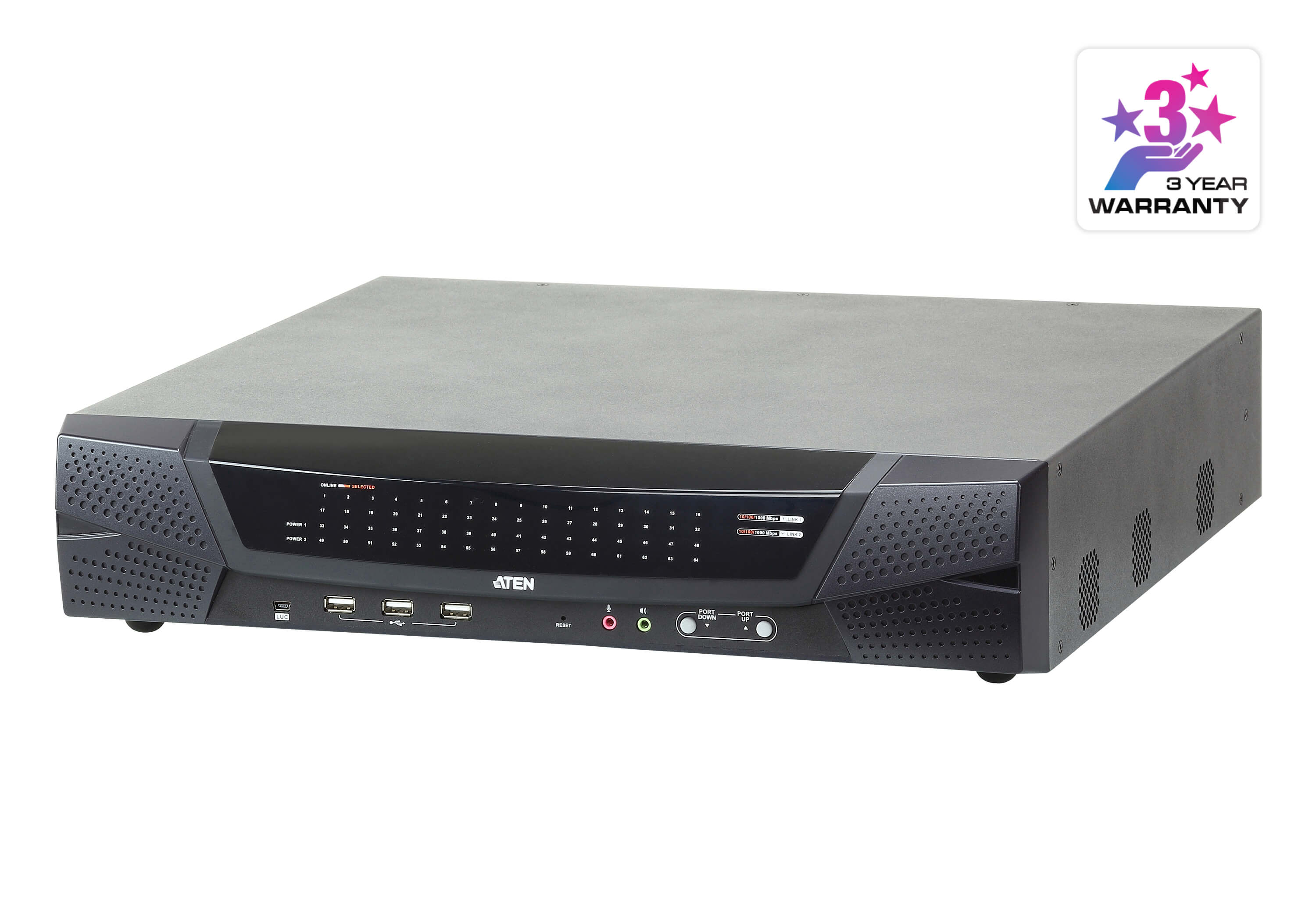 The Remote Control & Monitoring (RCM) Series of KVM over IP switches-2