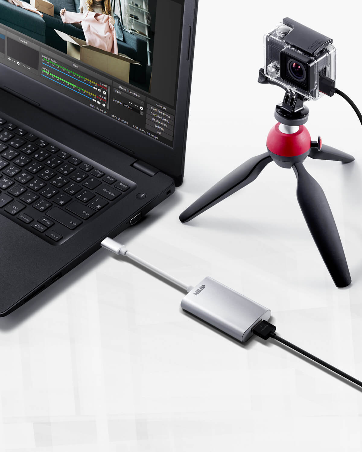 CAMLIVE™ (HDMI to USB-C UVC Video Capture)-4