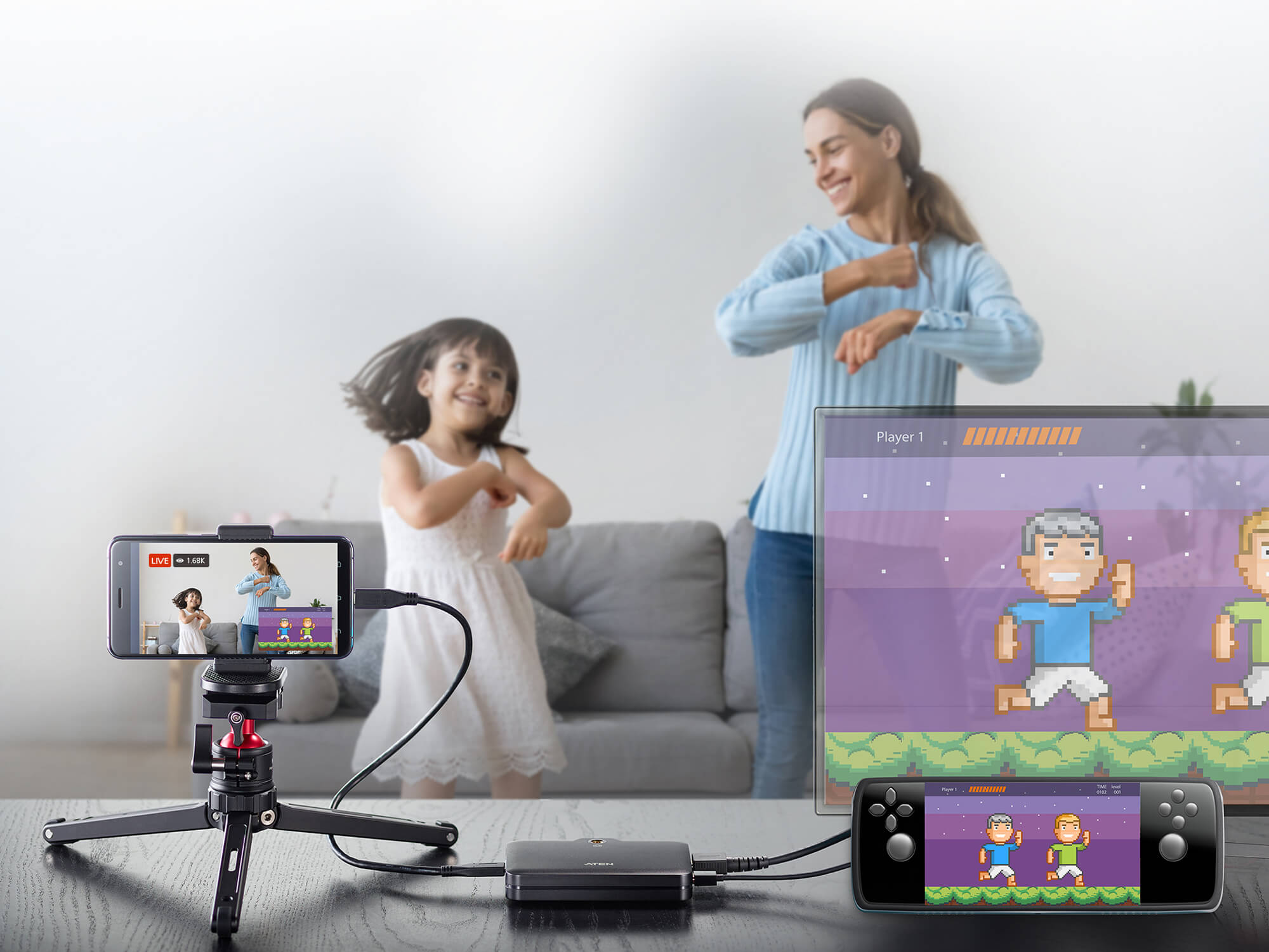 CAMLIVE™+(HDMI to USB-C UVC Video Capture with PD3.0 Power Pass-Through)-4
