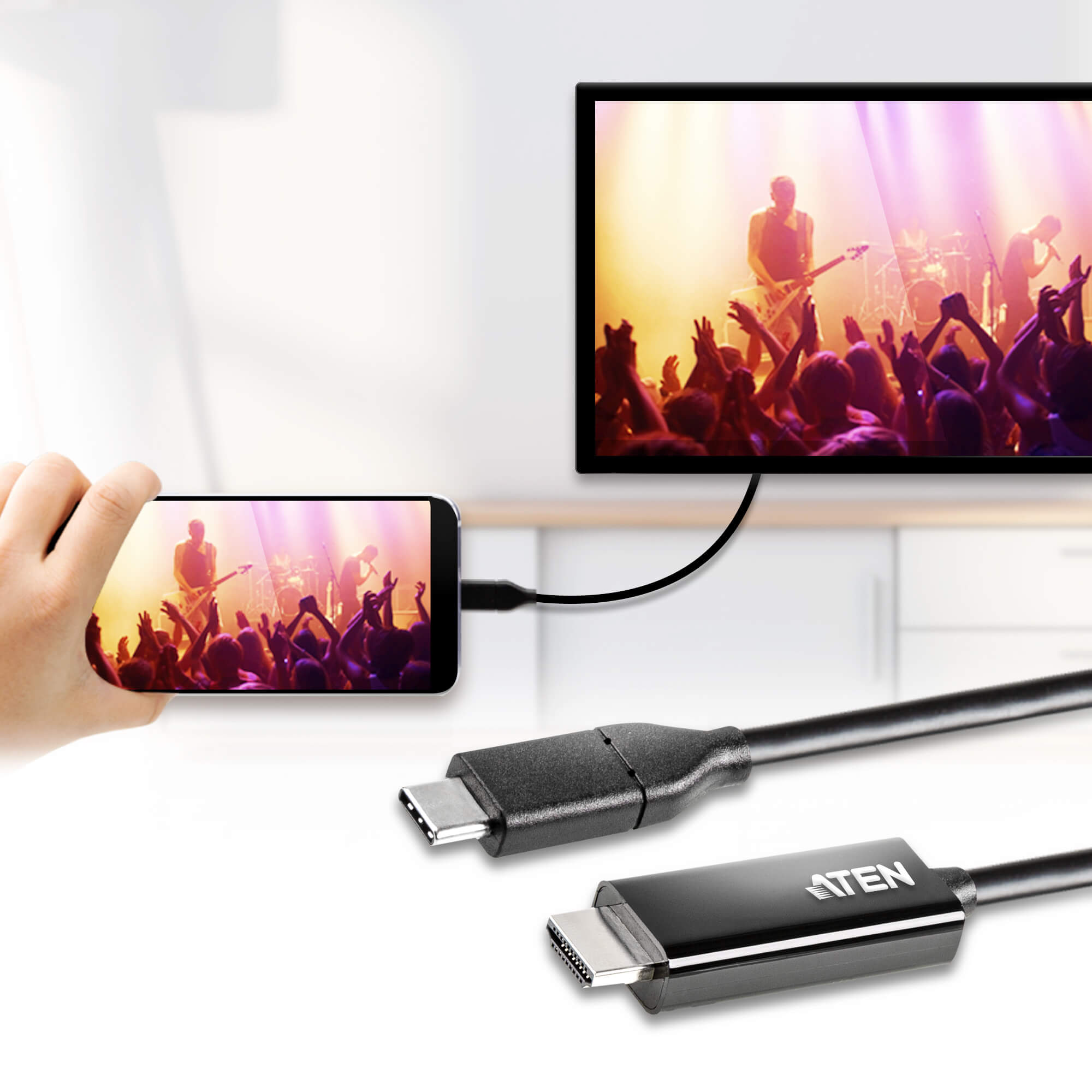 USB-C to 4K HDMI 컨버터 (2.7m)-2
