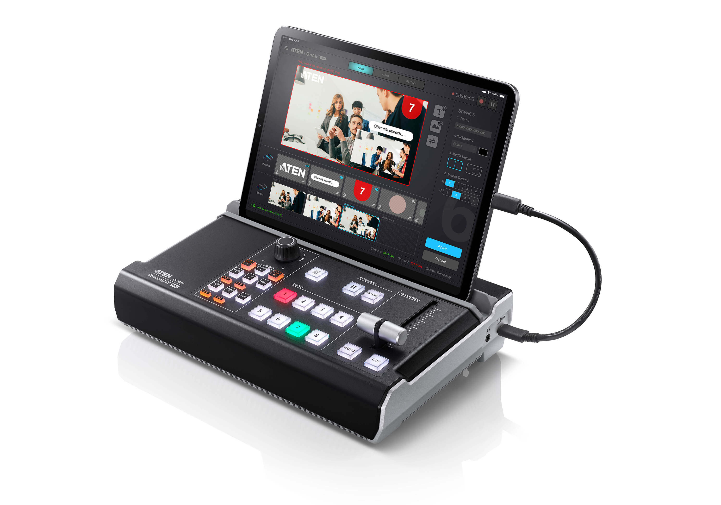 StreamLIVE™ PRO All-in-one Multi-channel AV Mixer-2