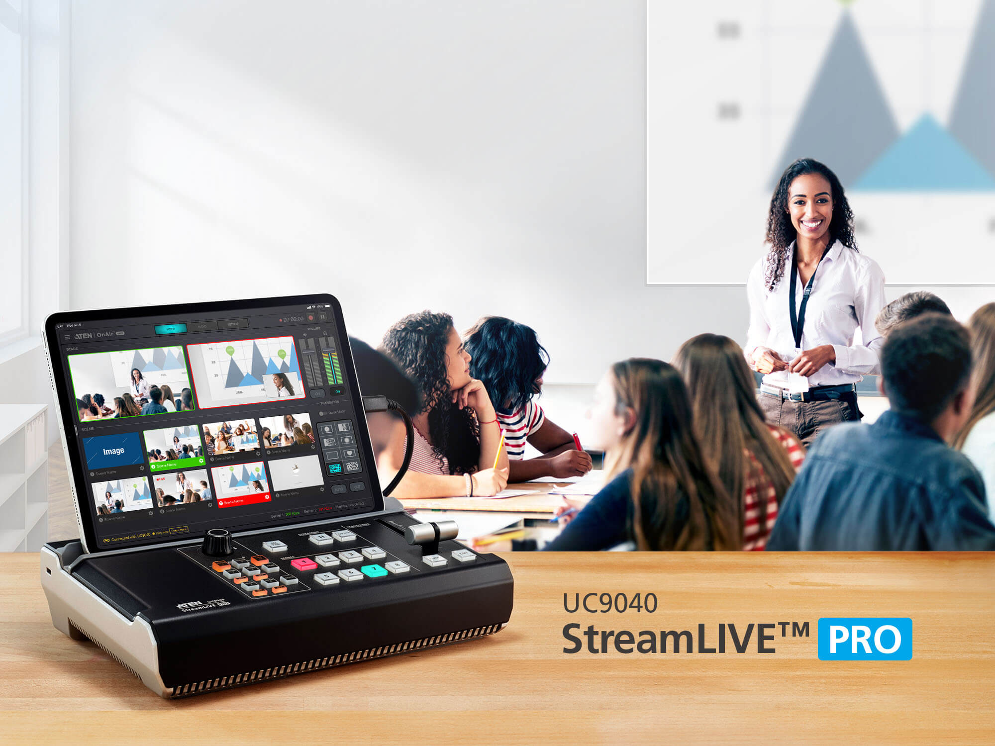 StreamLIVE™ PRO All-in-one Multi-channel AV Mixer-4