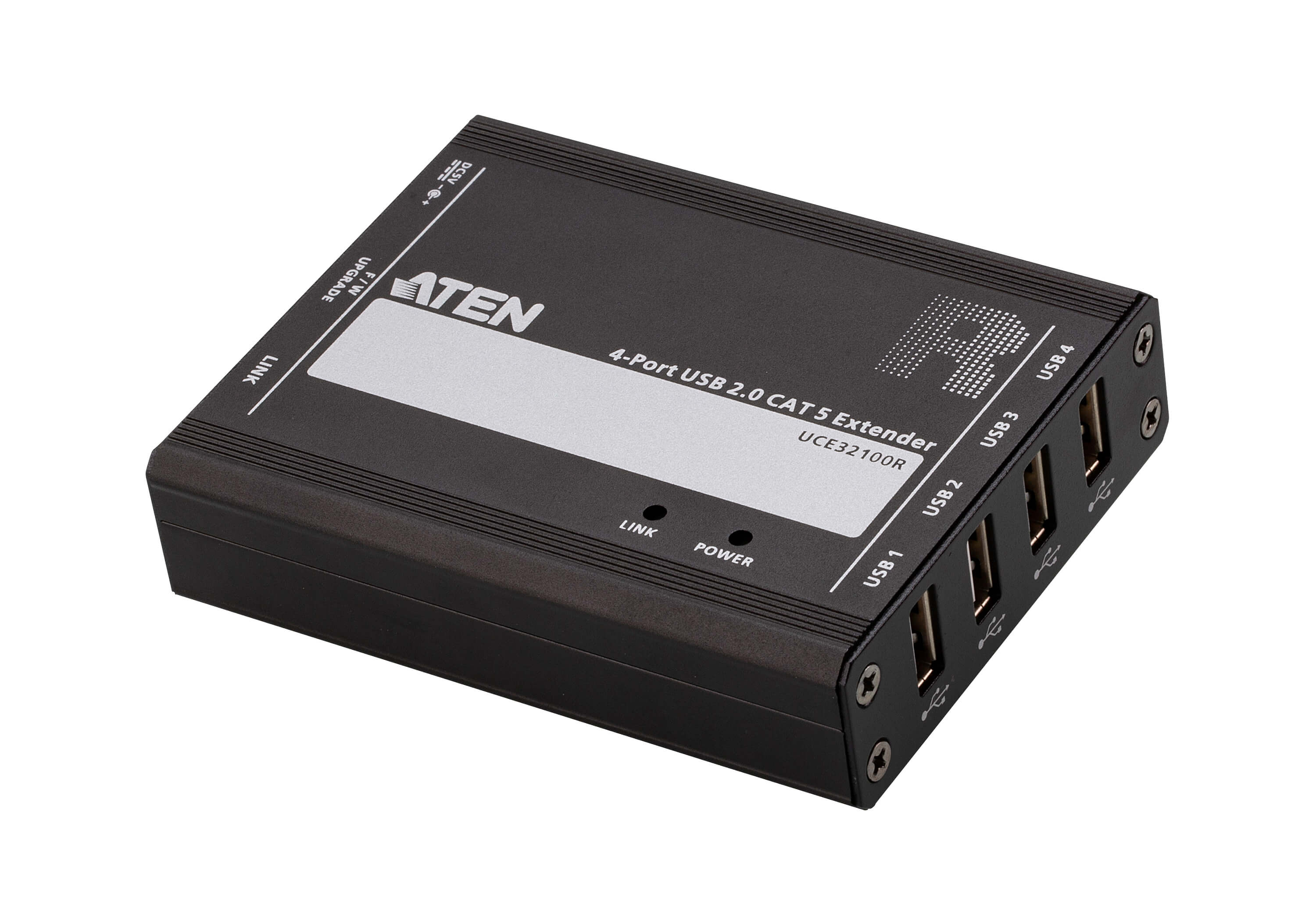 4-port USB 2.0 CAT 5 Extender (100m)