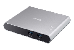 2-Port USB-C KVM Switch (Dock) with Power Pass-through