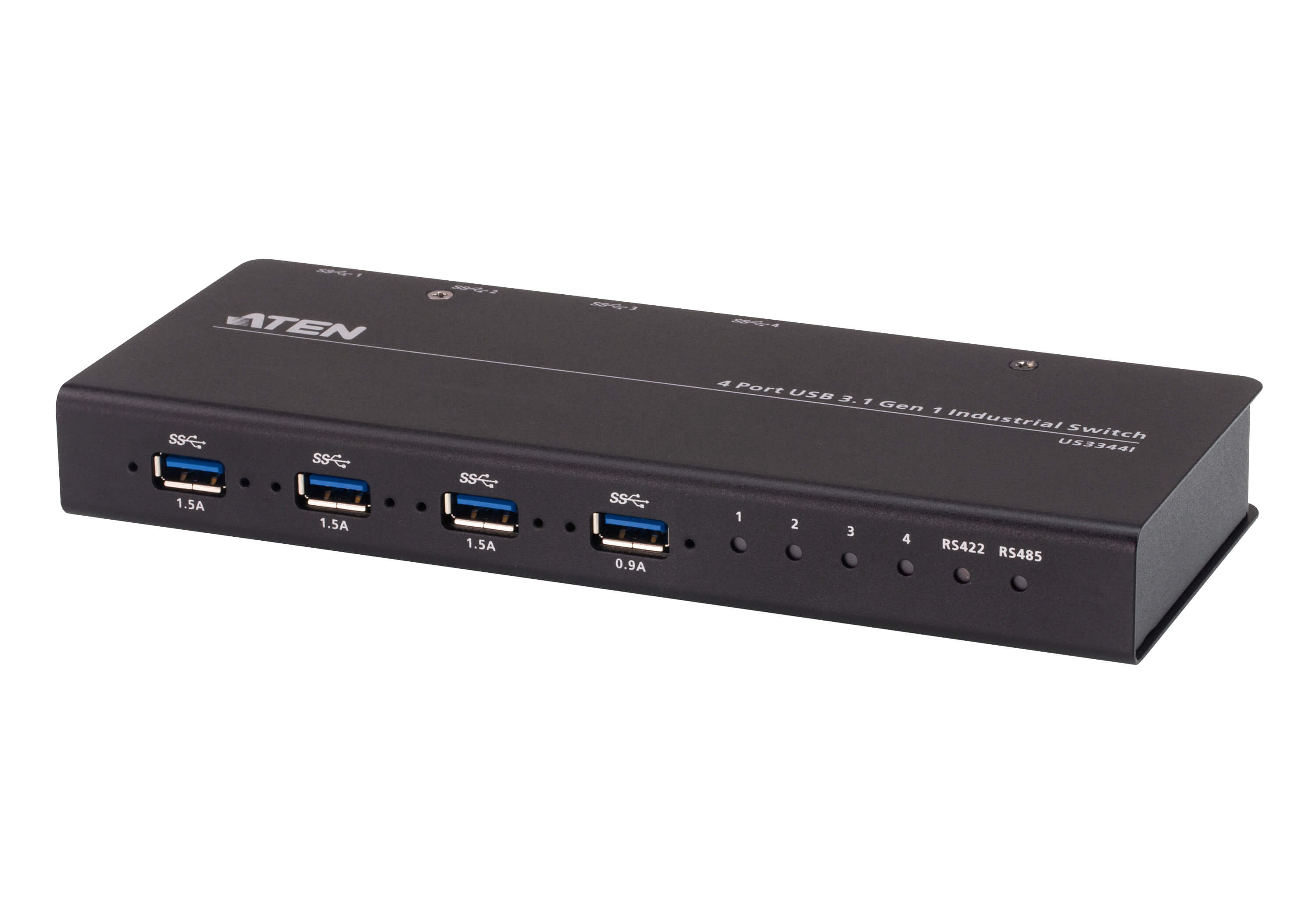 Switch de Hub Industrial 4 x 4 USB 3.1 Gen 1-1