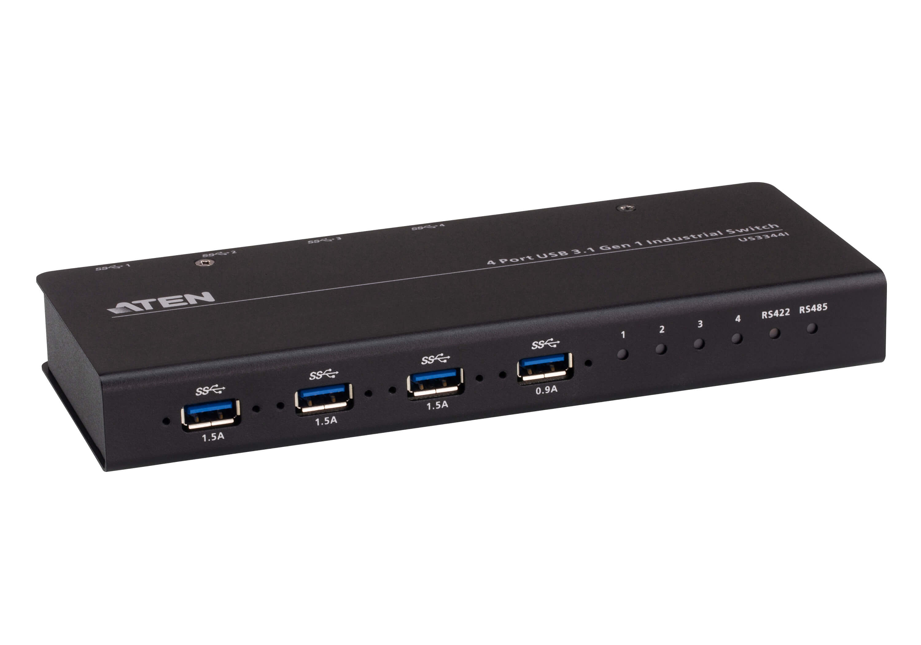 Switch de Hub Industrial 4 x 4 USB 3.1 Gen 1-4