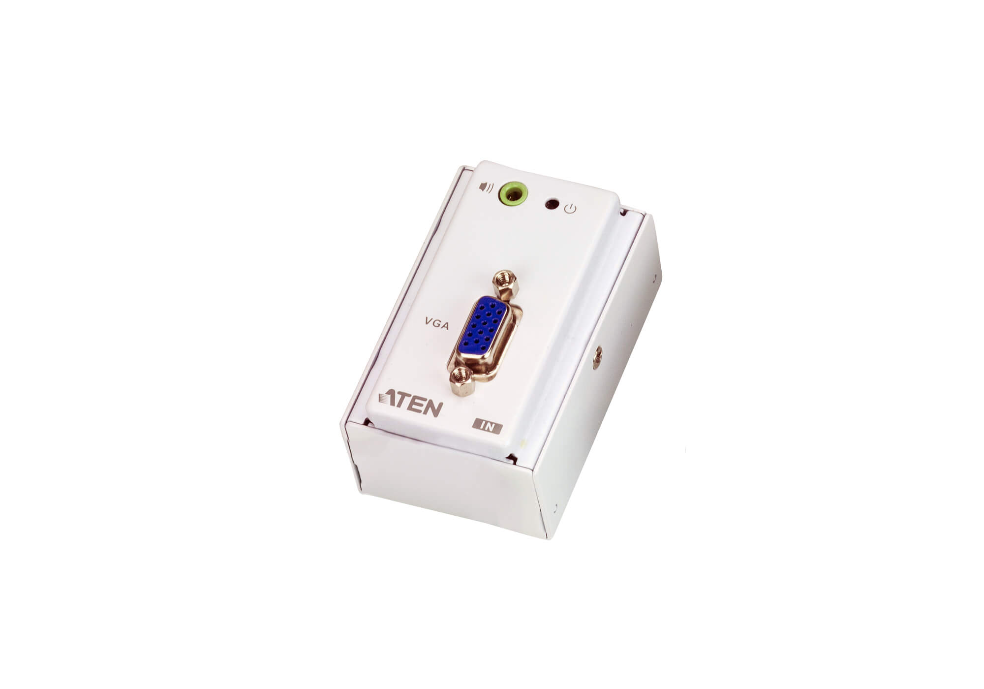 VGA/Audio Cat 5 Extender with MK Wall Plate (1280 x 1024 @150 m)-3