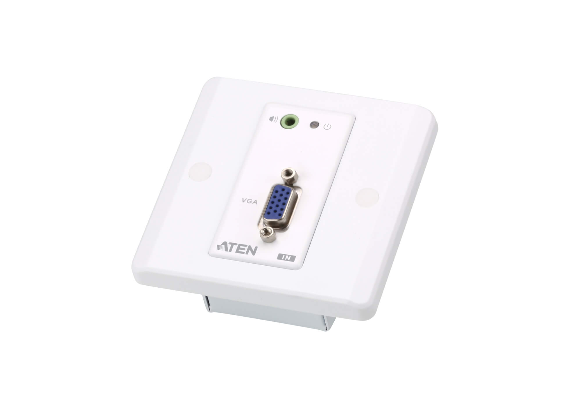 VGA/Audio Cat 5 Extender with MK Wall Plate (1280 x 1024 @150 m)-5
