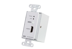 HDMI HDBaseT-Lite Transmitter with US Wall Plate / PoH