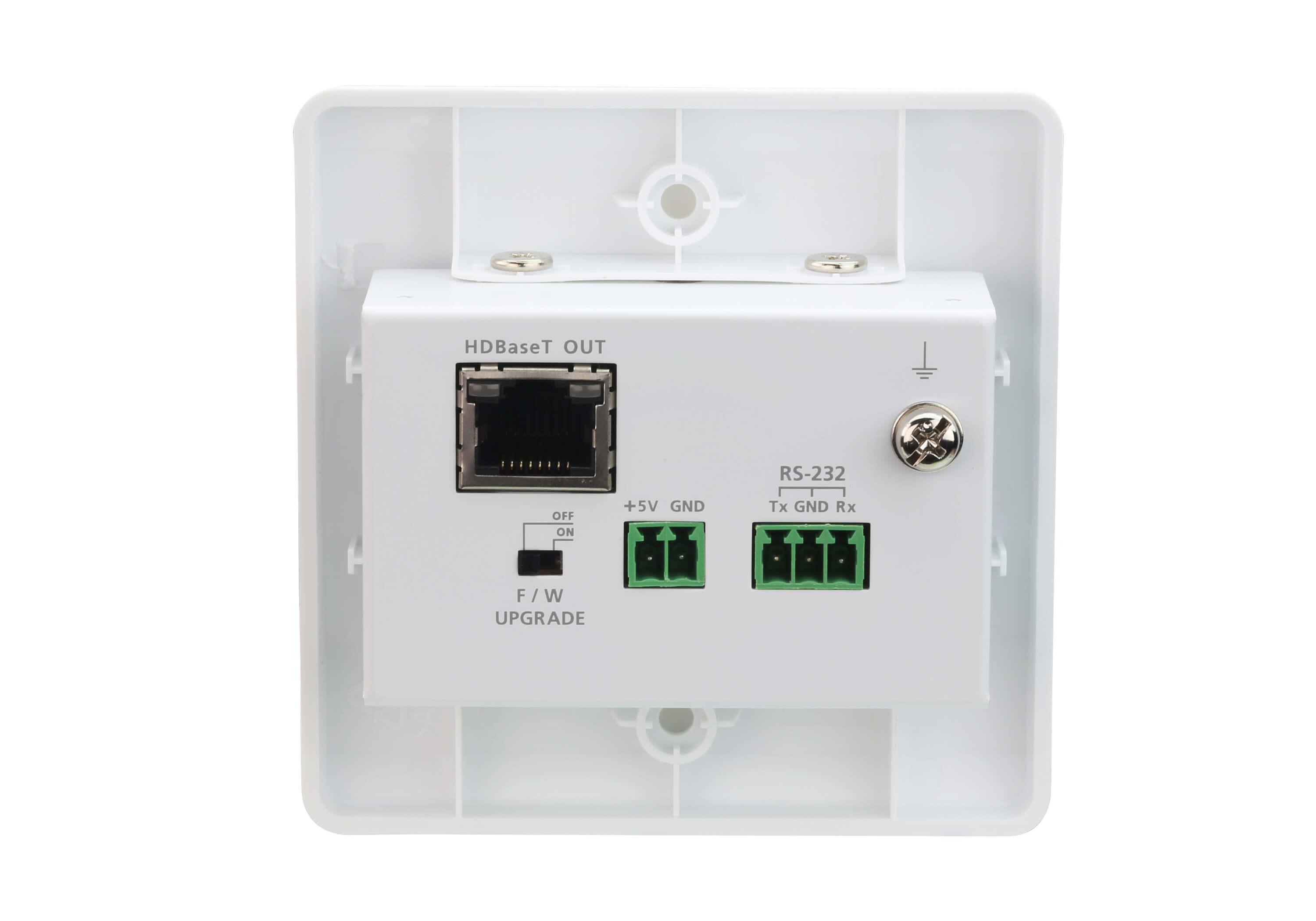 HDMI HDBaseT-Lite Transmitter with EU Wall Plate (4K@40m)-2