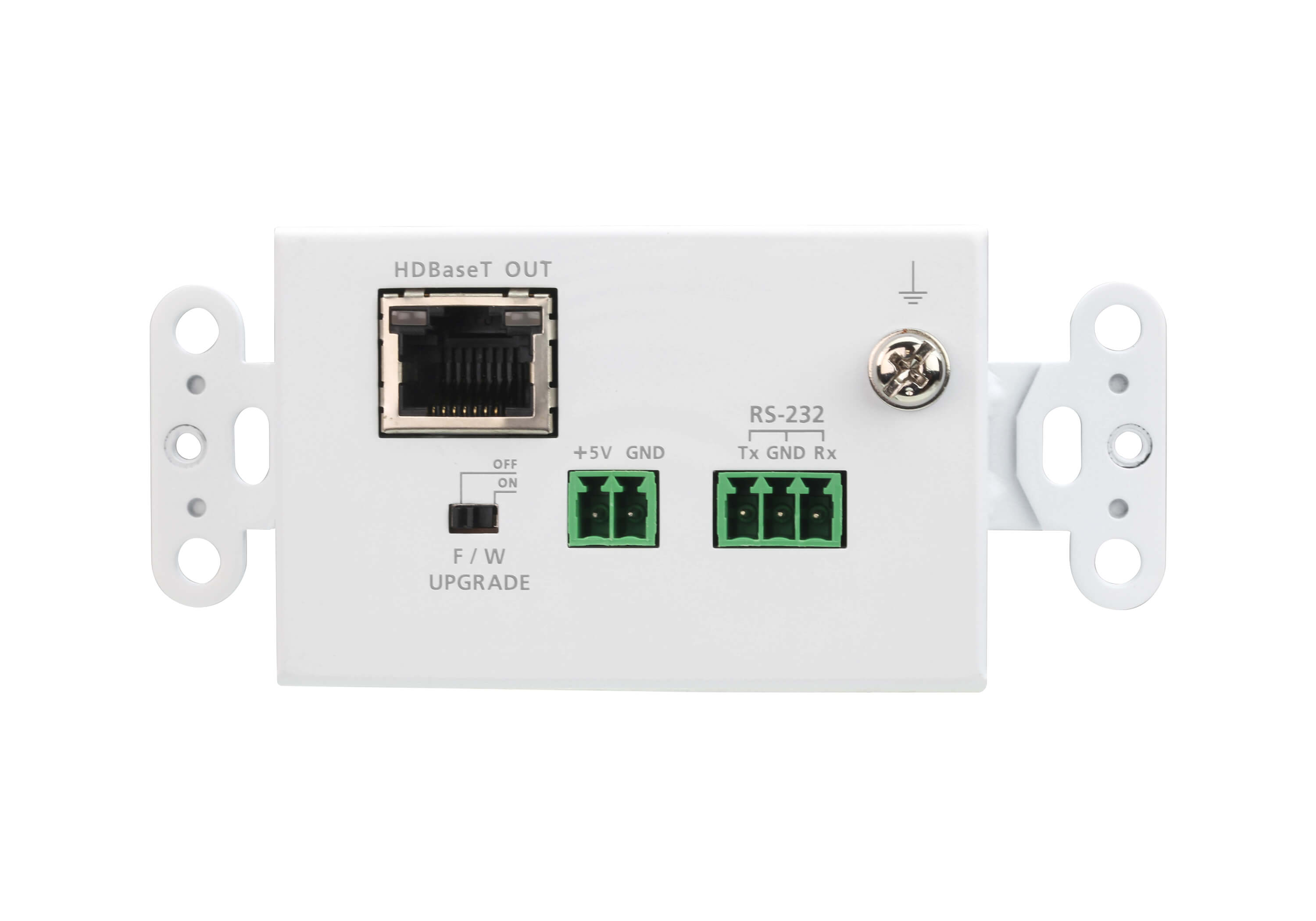 HDMI HDBaseT-Lite Transmitter with US Wall Plate (4K@40m) (HDBaseT Class B)-2