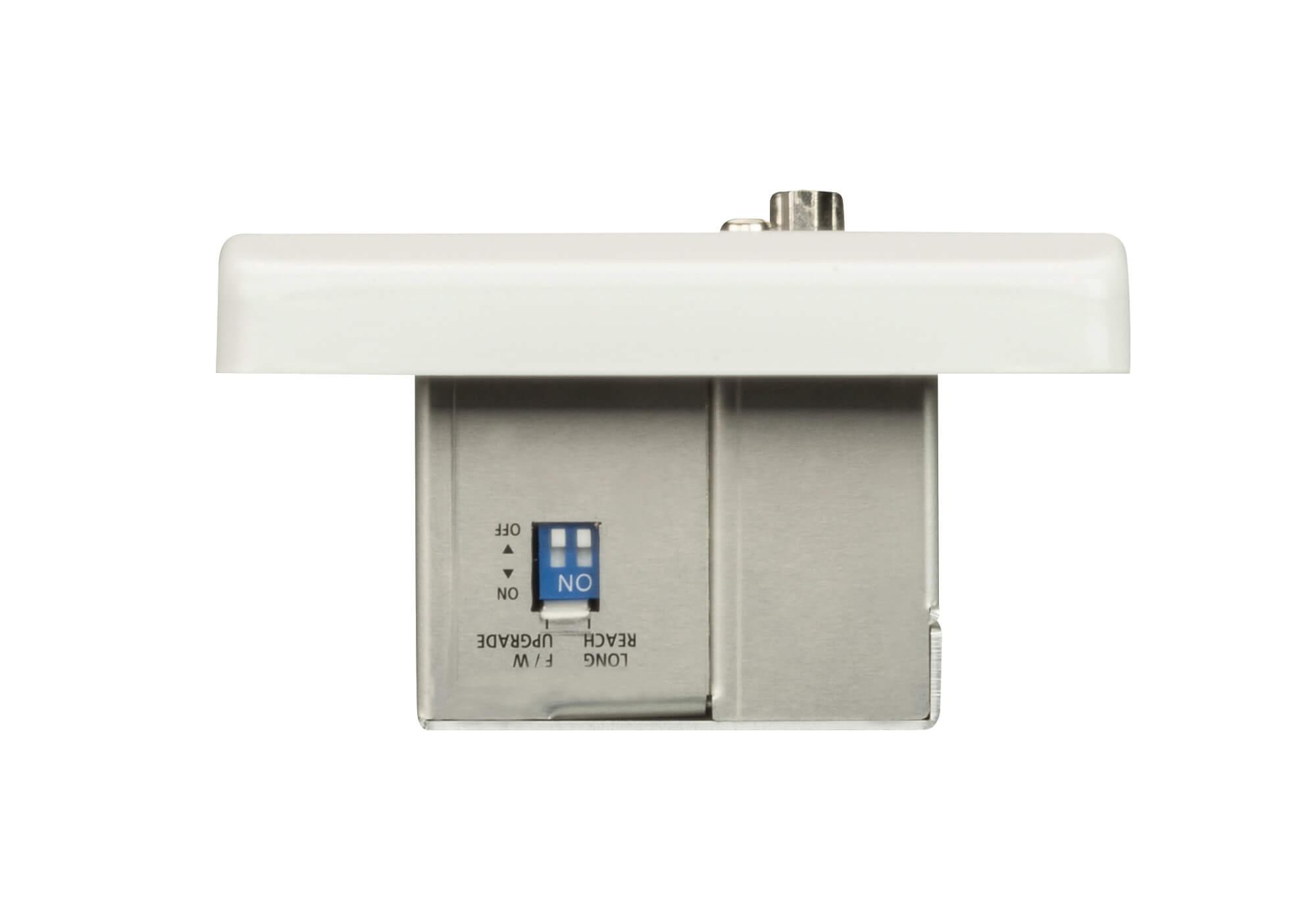 hdmi & vga hdbaset transmitter with eu wall plate-2