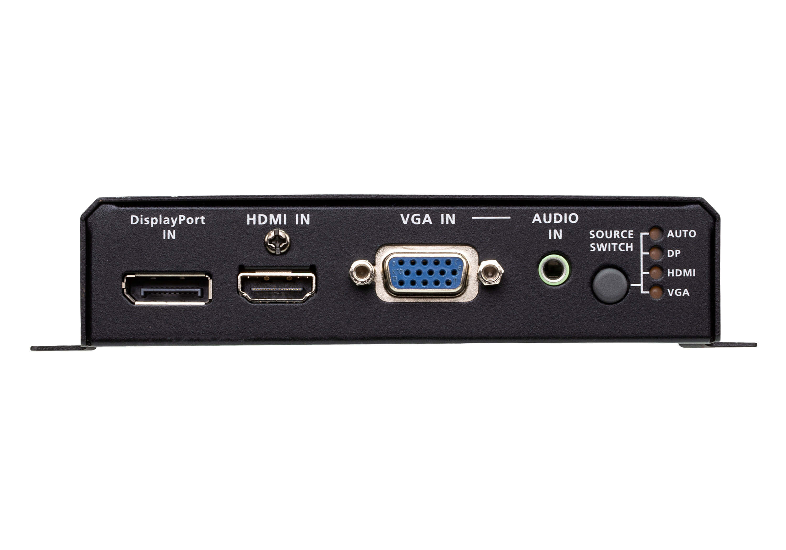 Switch DisplayPort / HDMI / VGA con trasmettitore HDBaseT-3