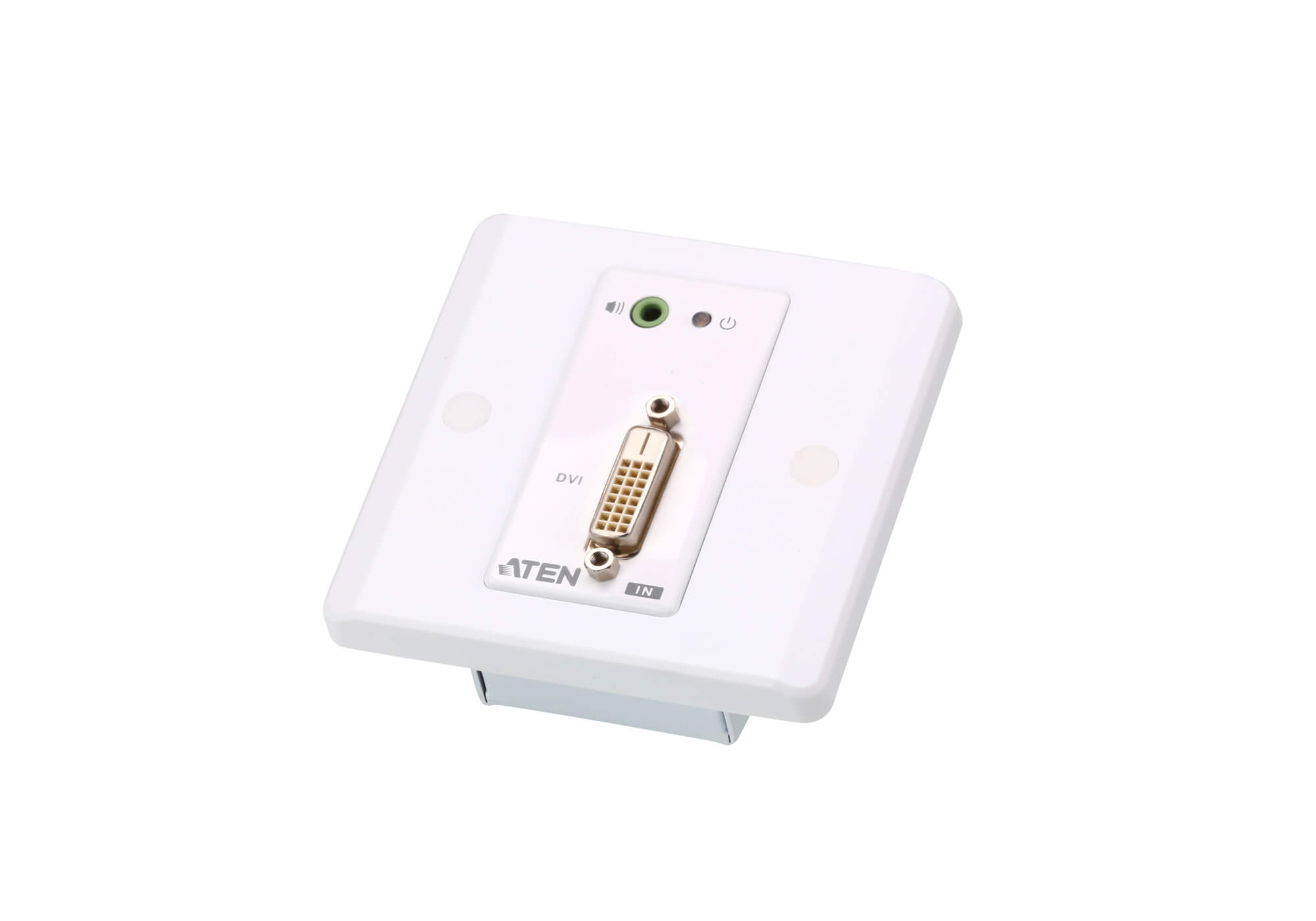 Extensor de DVI/audio Cat 5 con placa de pared MK (1920 x 1200 a 40 m)-5