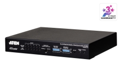 6 x 6 Dante Audio Interface met HDMI