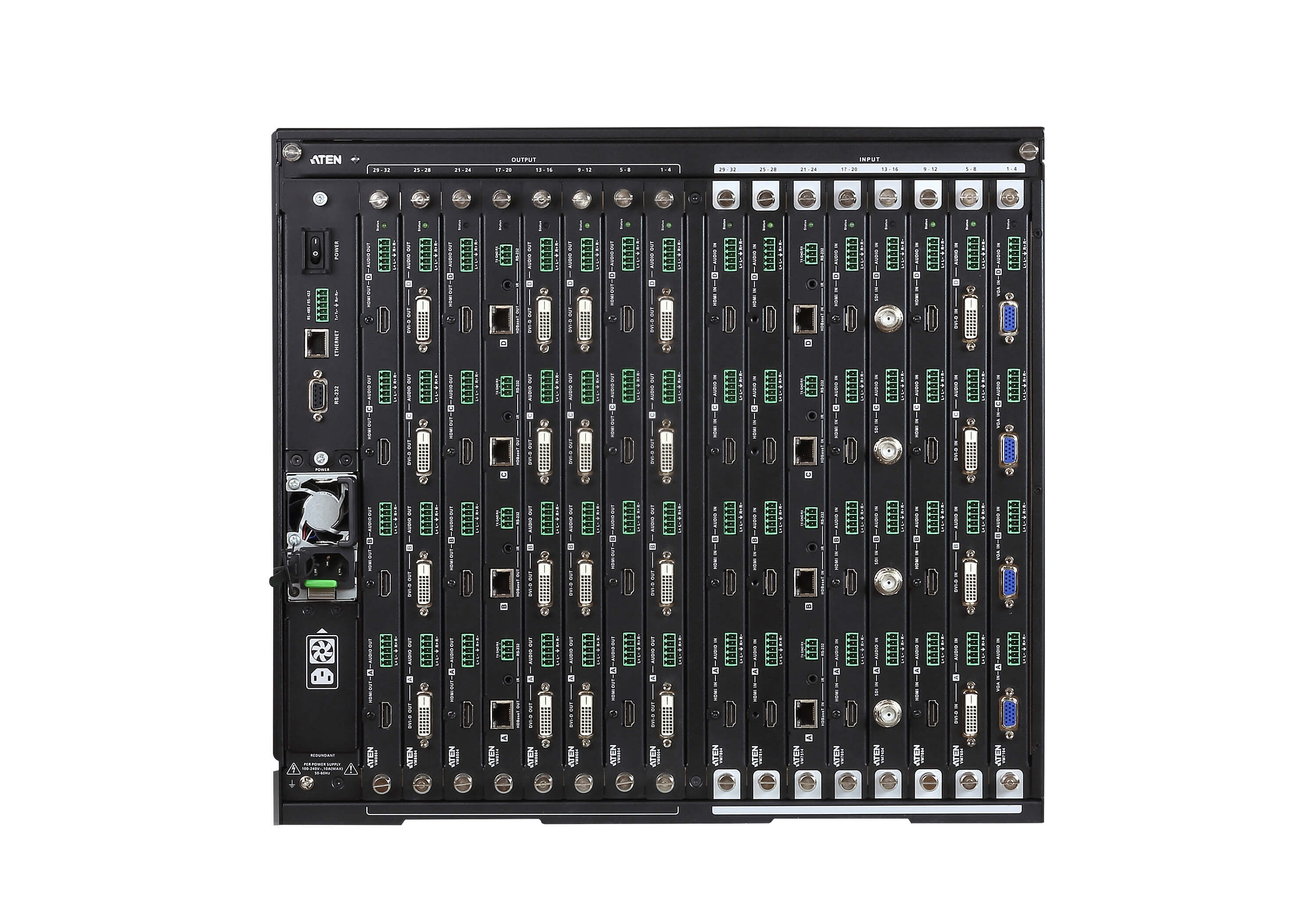 Switch de Matriz Modular 32 x 32 Gen 2-3