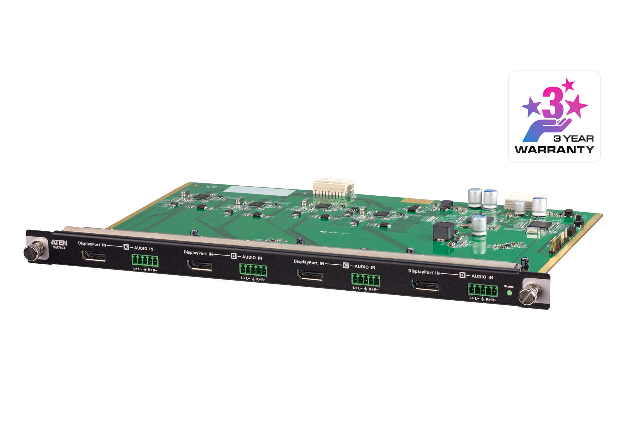 4-Port 4K DisplayPort Input Board-1