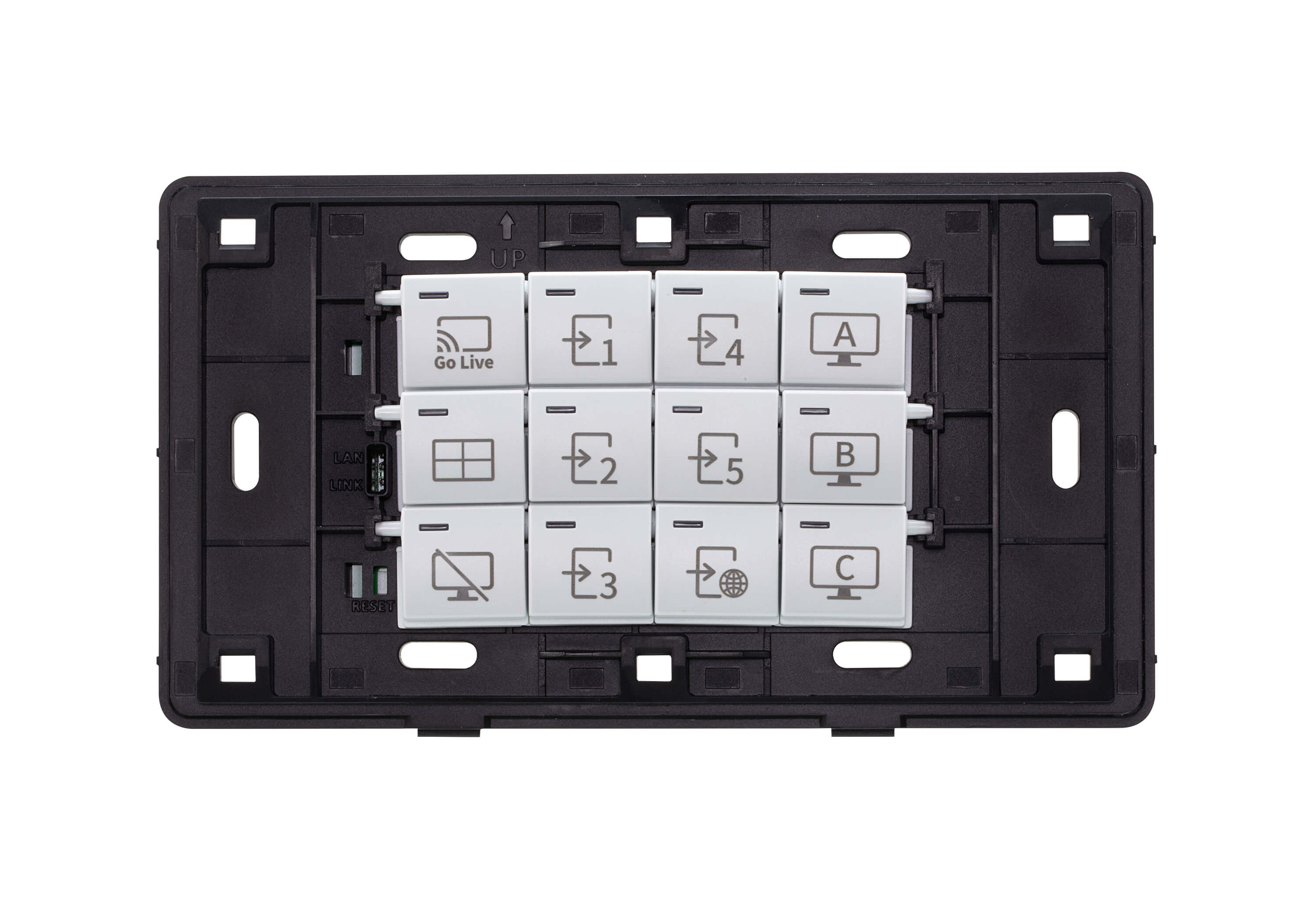 12-Key Network Remote Pad (EU, 2 Gang)-2