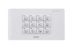 12-Key Network Remote Pad (EU, 2 Gang)