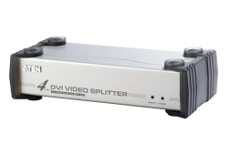 4-Port-DVI/Audio-Splitter