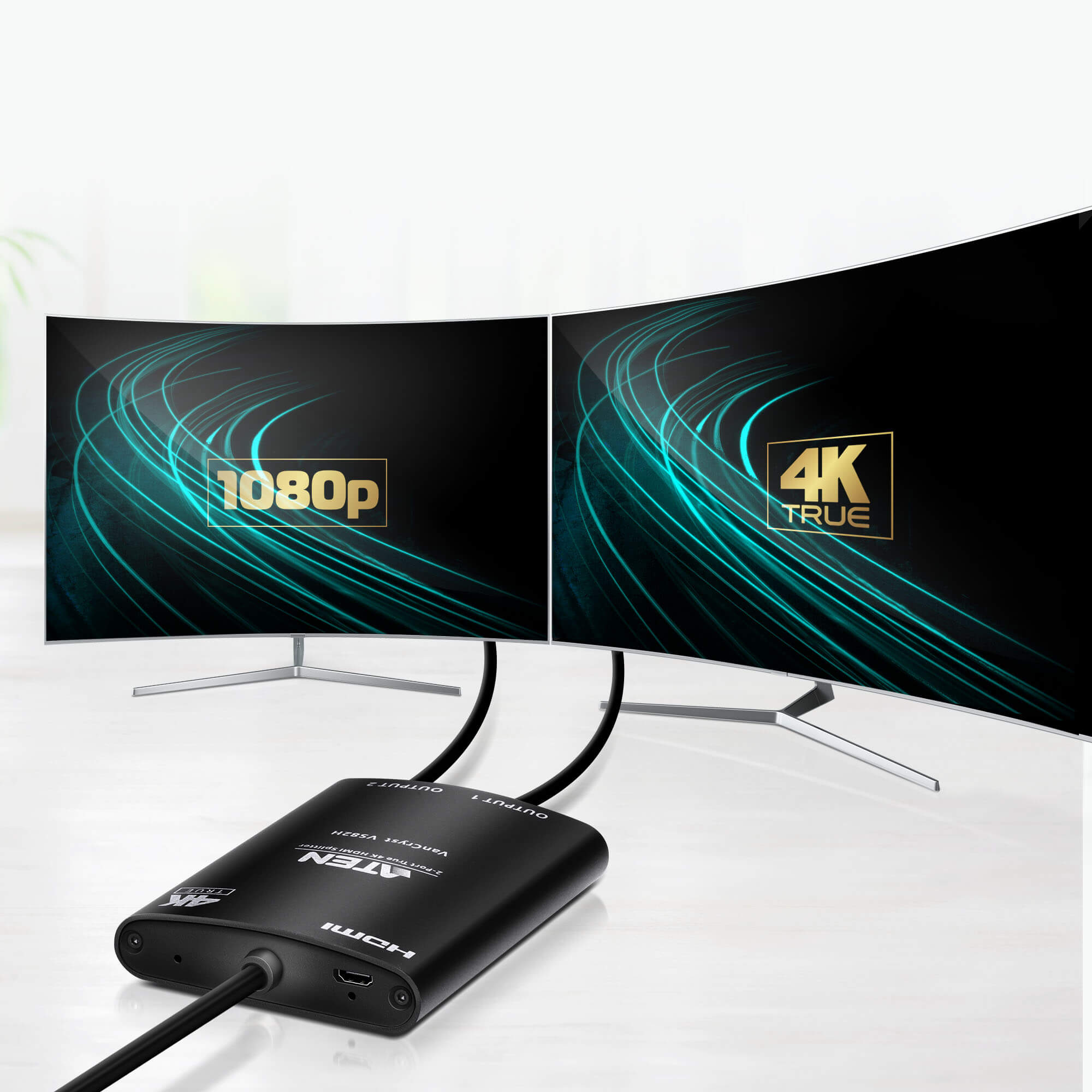 Répartiteur HDMI True 4K à 2 ports-4
