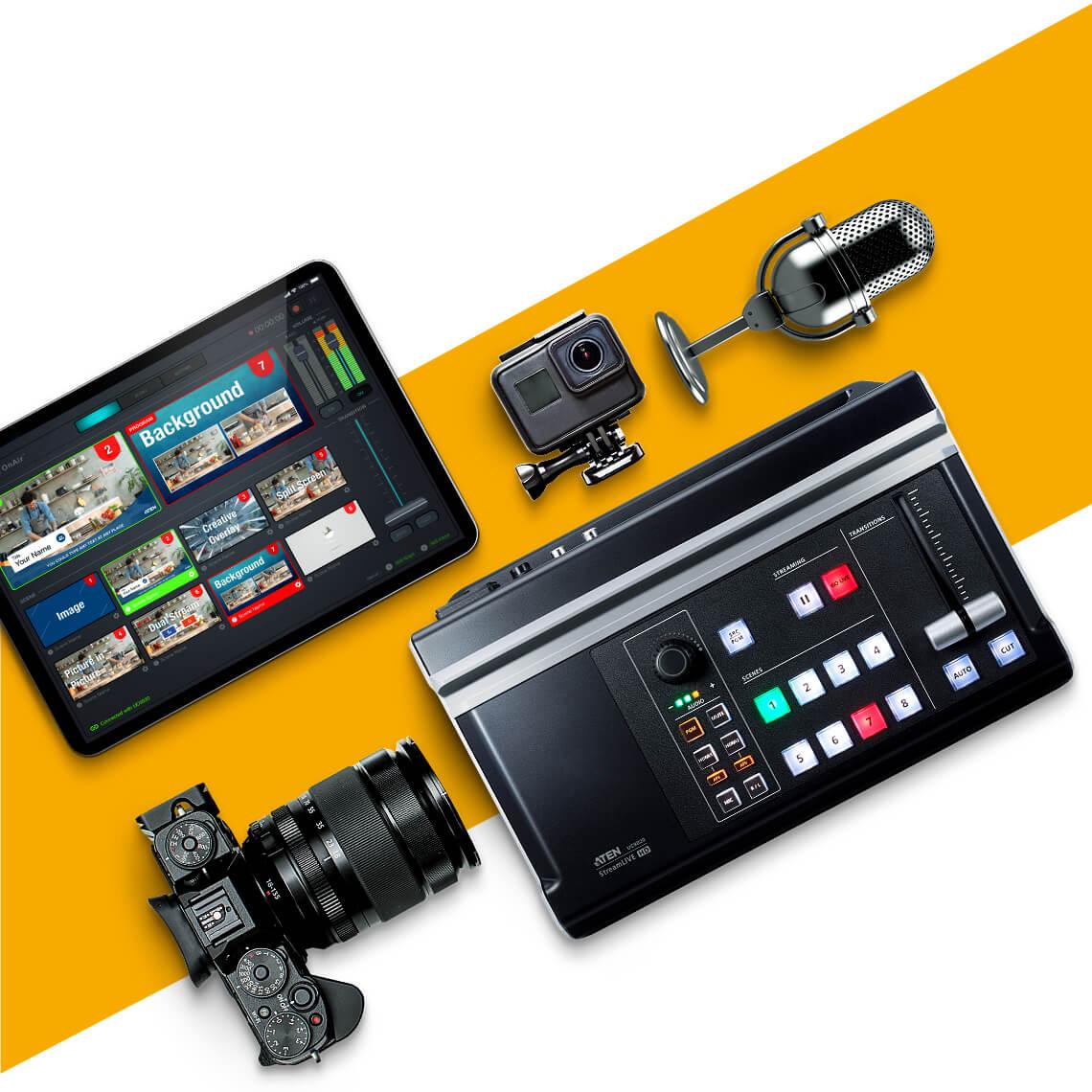 StreamLive™ HD All-in-one Multi-channel AV Mixer 5