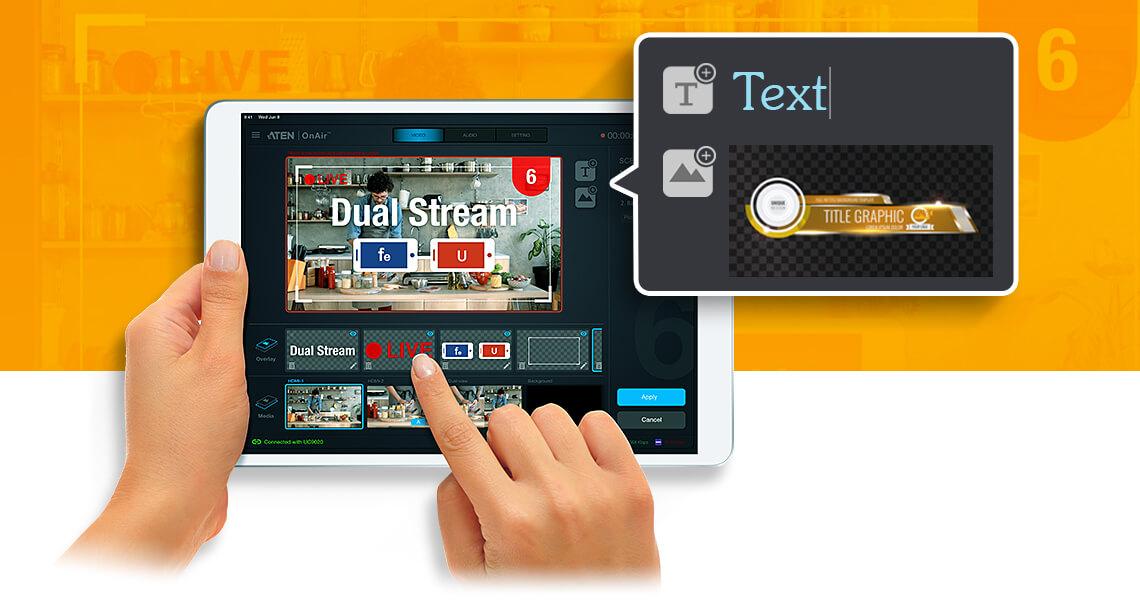 StreamLive™ HD All-in-one Multi-channel AV Mixer 8